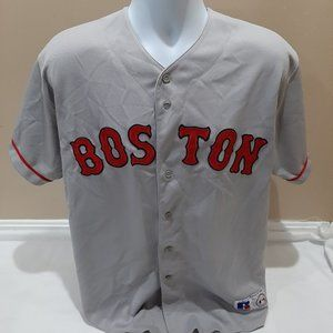 Boston Red Sox Russell Athletic Road Jersey